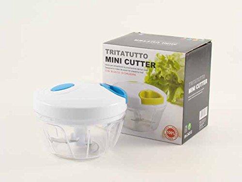 Tritatutto mini cutter Euronovità manuale taglia, sminuzza, sffetta frutta, verdura e molto altro