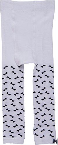 Bonnie Doon Mädchen Leggings, Weiß, Größe 104-110