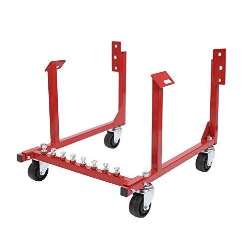 MOTOOS 1000lb Auto Engine Cradle Stand WithDolly Wheels Compatible with Chevrolet Chevy