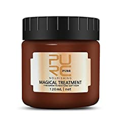 【Repairs Damage Hair Root】- This deep conditioning hair mask advanced hair repair system and specially formulated to enhance the texture, softness, manageability, shine, and provide additional damage restoration. Magical hair treatment provides an in...