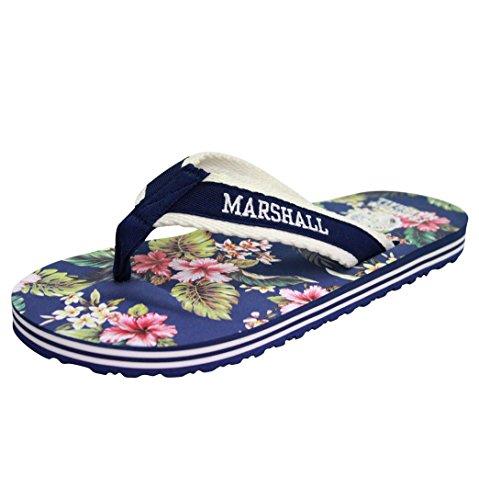 Franklin Marshall & Sandalen Flip Flop, Navy, Blau - Dunkelblau - Größe: 45