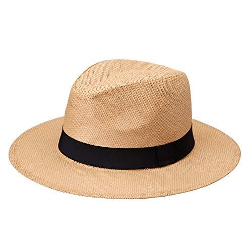 Michael Heinen Strohhut Herren - Traditioneller Panama Hut - Sonnenhut - Panamahut - UV-Schutz