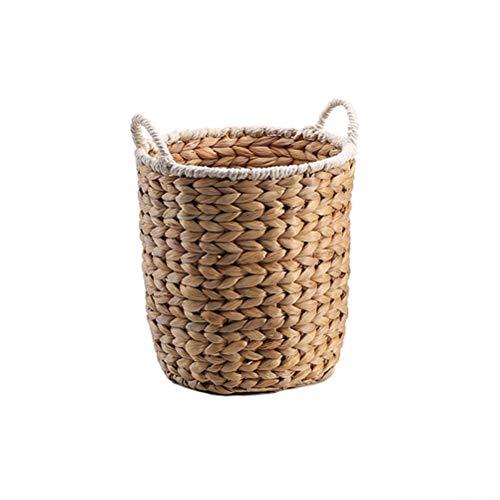 De Gran Capacidad Tiesto Ropa Sucia Cesta del almacenaje del Juguete Snack Cubo Cesta de lavadero Papelera de Almacenamiento de la Cesta del almacenaje del hogar (tamaño : S)