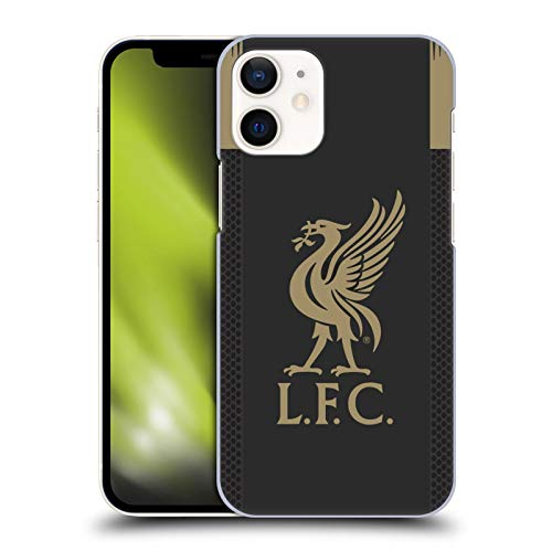 Official Liverpool Football Club Home Goalkeeper 2019/20 Kit Hard Back Case Compatible for Apple iPhone 12 Mini