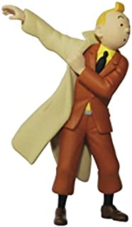 Moulinsart Collection Figurine Tintin Wearing his Coat 8,5cm 42473 (2011)