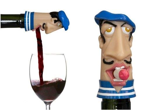 French Waiter Wine Aerator Pourer Oxidation Aeration Brings Out Flavor Taste Nodes Airtight Oxygen For Breathing