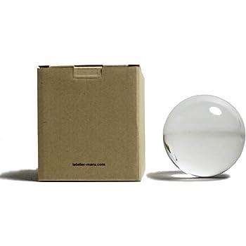クリスタルボール(オリジナルクリア) (76mm(台座付き))