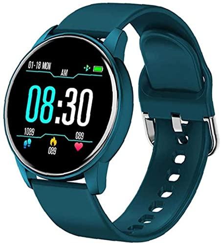 Reloj Inteligente Banda Tracker Reloj Inteligente Reloj de Pulsera Deportiva Inteligente Pulsera de Actividad Rastreador de Ritmo Cardíaco Reloj Para