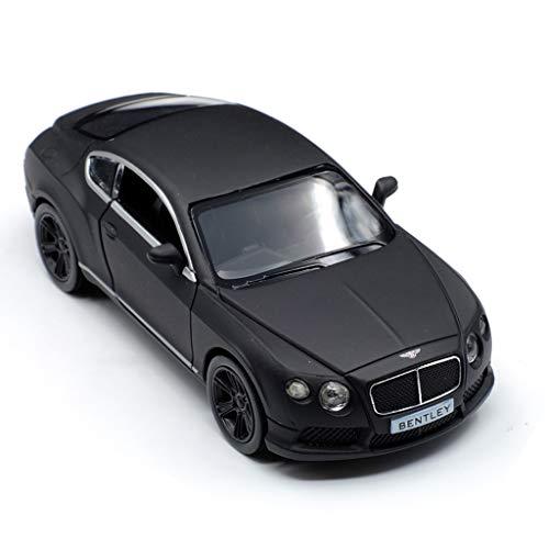 GAOQUN-TOY Bentley Continental GT Matt Modèle de Voiture en Alliage autorisé 01:36 (Couleur : Noir)