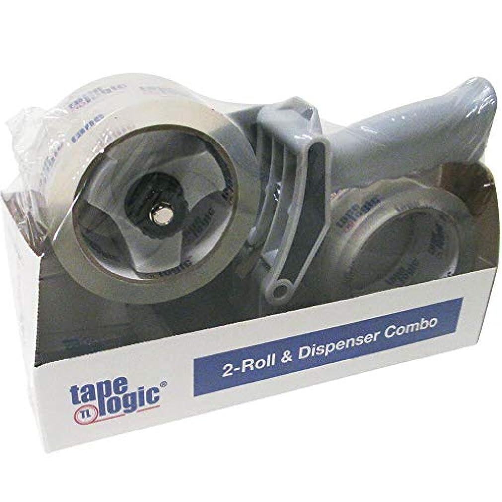tape logic 2-Roll Dispenser Combo 2.6 Mil 2