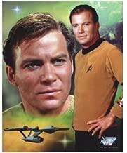 William Shatner 8x10 photo Star Trek Boston Legal many faces in color