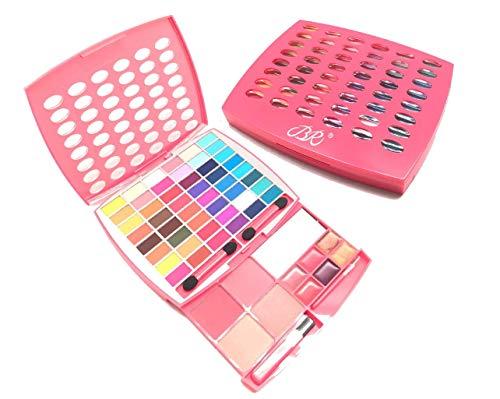 BR Makeup Kit, Glamur Girl Kit, 48 Eyeshadow / 4 Blush / 6 Lip Gloss