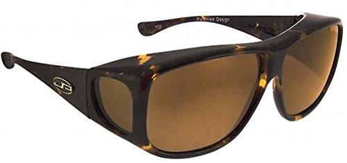 Fitovers Eyewear Sonnenbrille Aviator, Damen, AV002A, Tortoiseshell, Large