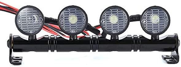 مصابيح LED دائرية مصباح سقف كشاف البحث عن مصابيح الصخور حامل عالمي RC تسلق السيارة مشرق ملائم أربعة أبيض