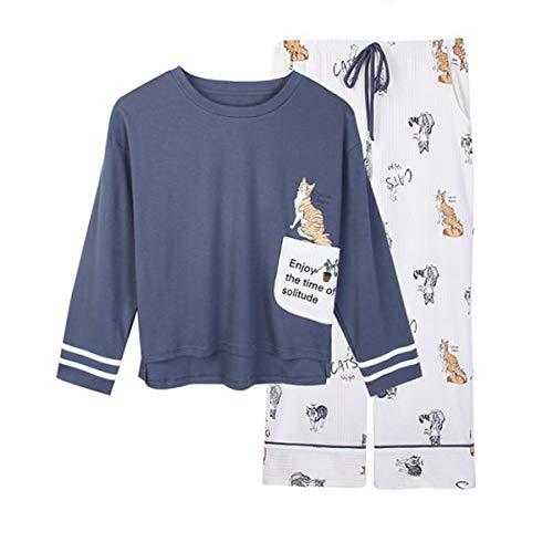 GOSO Pijama de Invierno cálido para niñas de 7 a 13 años