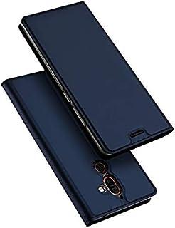 Nokia 7 Plus DUX DUCIS Skin Pro Series Leather Case Cover - Blue