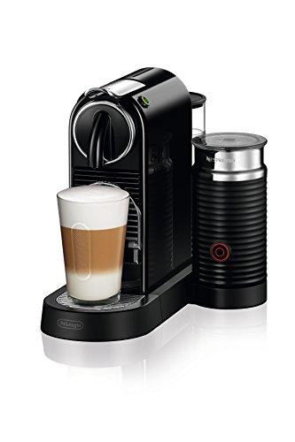 Nespresso Citiz Coffee and Espresso Machine by DeLonghi with Aeroccino, Black