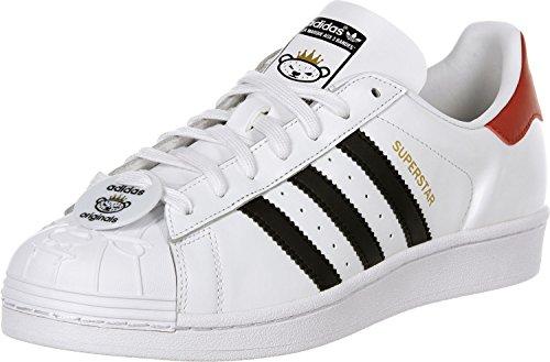 Adidas Superstar Nigo Bearfoot Schuhe 4,0 white/black