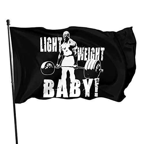 Funny Ronnie Coleman Deadlift Flag 3x5 Ft Garden...