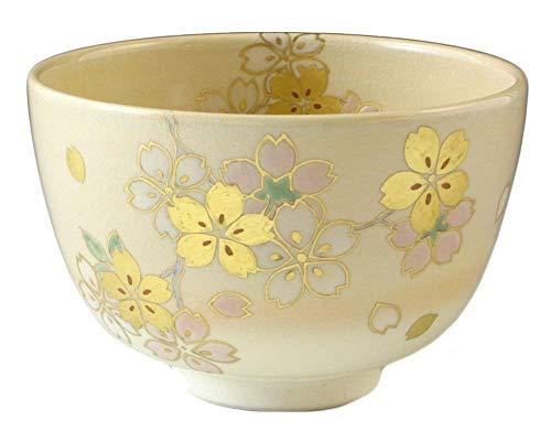 Find Discount KIYOMIZU Ware Matcha Bowl KINSAI - Gold glaze SAKURA