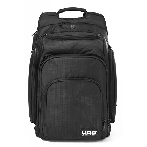 UDG Ultimate DIGI Backpack Black/Orange Inside - Zaino per Laptop, Nero con interno in Arancione