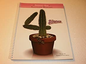 Science 4 Student Activity Manual Answer Key 3rd Edition
