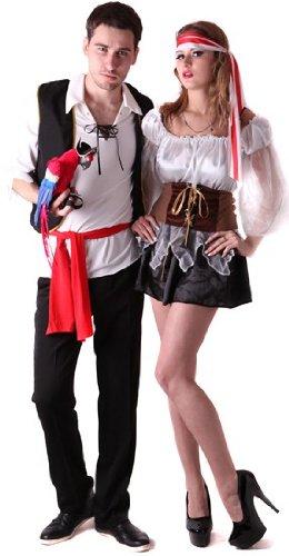 Costume coppia pirati Small