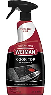 Weiman Cooktop Cleaner and Polish 22 Fluid Ounces - Daily Cleaner - Shines and Protects Glass and Ceramic Smooth Top Ranges - Gentle Formula (B011KMC3N8) | Amazon price tracker / tracking, Amazon price history charts, Amazon price watches, Amazon price drop alerts