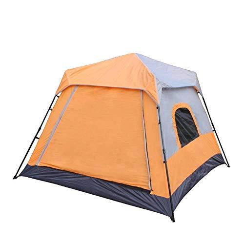 YANYUN Wurfzelt Doppelwandig,Automatische Campingzelt Tragbar Faltbare Wasserdicht UV Schutz Einfach Aufzubauen Sekundenzelt Für Trekking Outdoor Festival