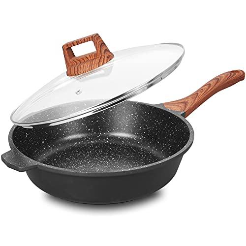 5 quart frying pan nonstick - 2