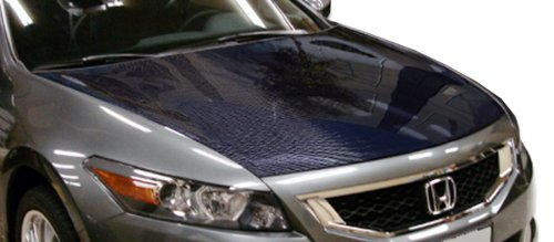 Carbon Creations Replacement for 2008-2012 Honda Accord 2DR OEM Look Hood - 1 Piece (Honda Accord 2dr Carbon Fiber)