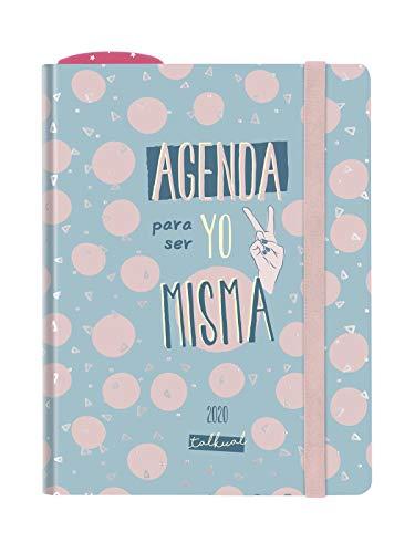 Finocam Talkual Misma, Agenda 2020 Español, Semana Vista Apaisada