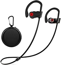Otium Wireless Headphones, Bluetooth Headphones,Sports Earbuds, IPX7 Waterproof Stereo Earphones for Gym Running 9 Hours Playtime Noise Cancelling Headsets