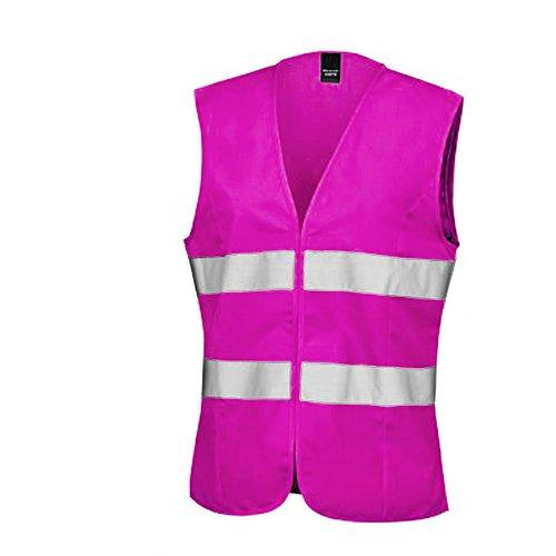 Result - Gilet haute visibilité - Femme (M - FR 40) (Rose fluo)