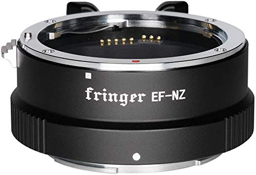 Fringer EF NZ Lens Adapter Auto Focus Adapter Ring for Canon EF Lens to Nikon Z Mount Z6 Z7 Z50 Camera Adapter