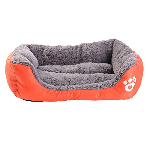 LohugoMulti-Color Optional Candy Color Waterproof Warm Dog Bed, Easy To Clean, Suitable For Large, Medium And Small Dogs