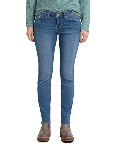 MUSTANG Damen Slim Fit Caro Jeans, Blau (Medium Bleach 302), Gr.- 33W / 34L