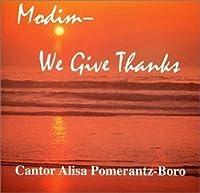 Modim - We Give Thanks