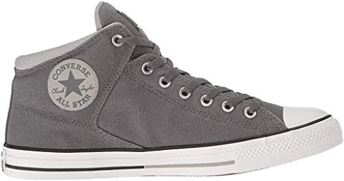 Converse Unisex Mens Chuck Taylor All Star High Street Hi Fashion Sneaker, Thunder/Dolphine/White, 8