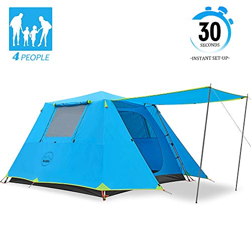 KAZOO Family Camping Tent 4 Person