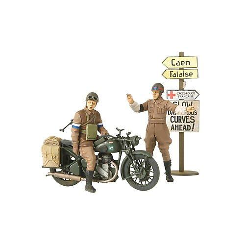 タミヤ 1/35 ミリタリーミニチュアシリーズ No.316 イギリス陸軍 軍用オートバイシリーズ BSA M20 MPセット...
