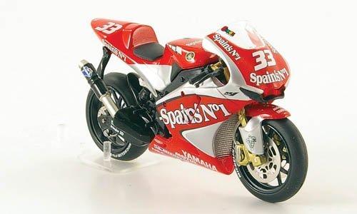 YAMAHA YZR-M1, No.33, Tech3, M.Melandri, MotoGP, 2004, Modellauto, Fertigmodell, IXO 1:24