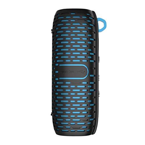 HIOD Bocina Bluetooth Al Aire Libre Ciclismo Impermeable Portátil Mini Altavoz Inalámbrico 8h de Tiempo de Juego Alcance Bluetooth de 10 m,Blue