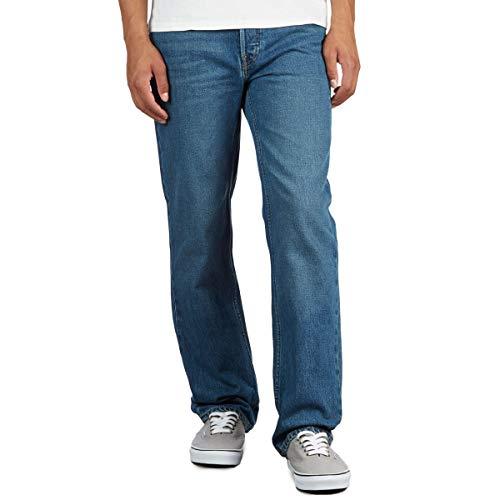 BRIXTON 33X32 Pantalon en Jean pour Homme 5 Points Indigo
