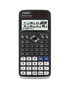 Casio FX-991SPX - Calculadora científica, recomendada para el curriculum español, 576 funciones, solar y color gris /blanco