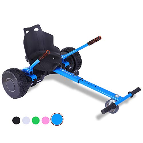 mingto Hoverboard Seat Attachment with Four Straps,Hoverboard Accessories-Adjustable for All Ages.Fits All Hoverboards.(Hoverboard Not Included) (Blue)