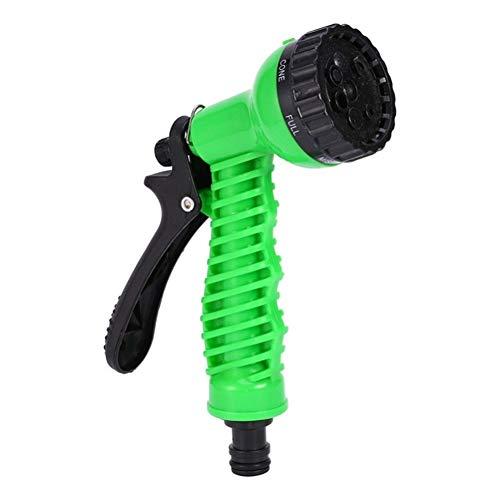 Preisvergleich Produktbild Gartenwasser Sprayer Bewässerung Rasenschlauch Sprühwasser Düse Auto Waschen Reinigung Rasen Kunststoff Streuen Werkzeug Styling Manual (Color : Green)