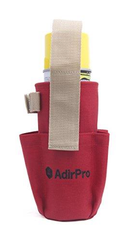 AdirPro Spray Can Holster with Pockets, Belt Loop & Belt...