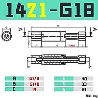 BXU-BG GIMATIC VGN1010 / 1421回転防止バッファハードウェアCRG VFN1011-M5 / 1436-G10 (Color : VFN1421 G18)