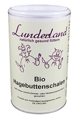 Lunderland - Bio-Hagebuttenschalen zur Stärkung des Immunsystems, 800 g, 1er Pack (1 x 800 g)
